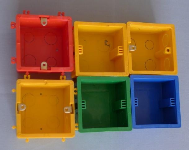 ф10*1.0线管专用彩色线盒